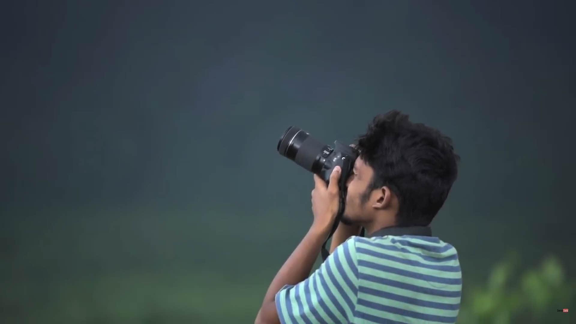 拍攝風景時,要先以天空作為測光依據