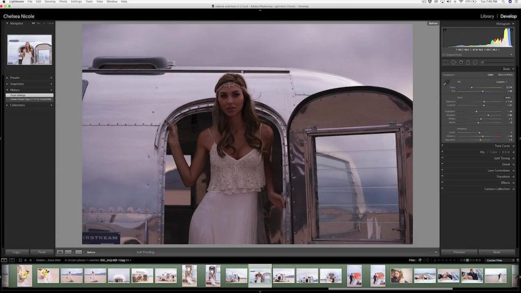 按下鍵盤的「\」,可以比對一下照片的初始狀態,可以看出差異相當的大。