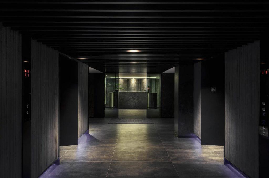 電梯間正面視角