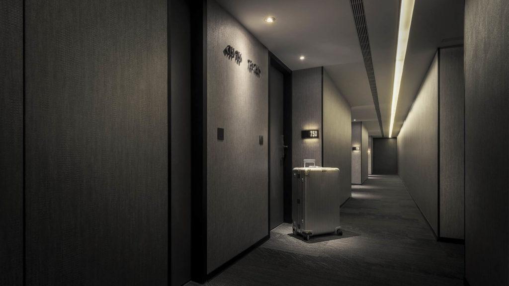 客房區走道空間攝影