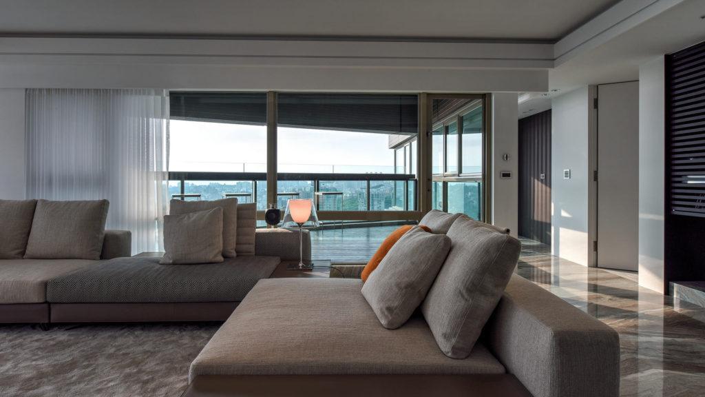 台北淡水市空間攝影案例-客廳
