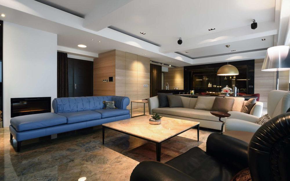 台北新店市空間攝影-客廳與用餐廳空間