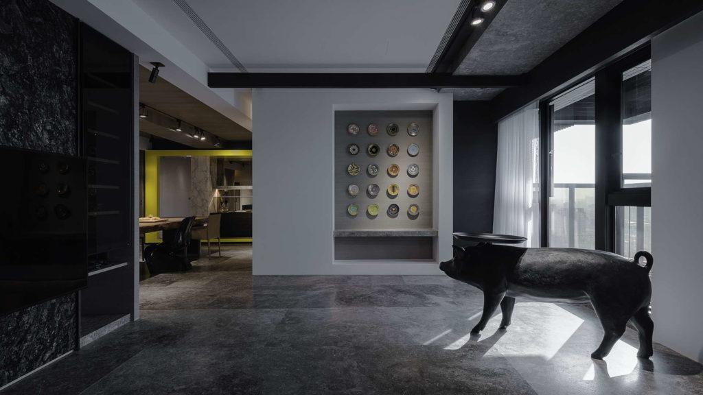 客廳與裝飾壁面