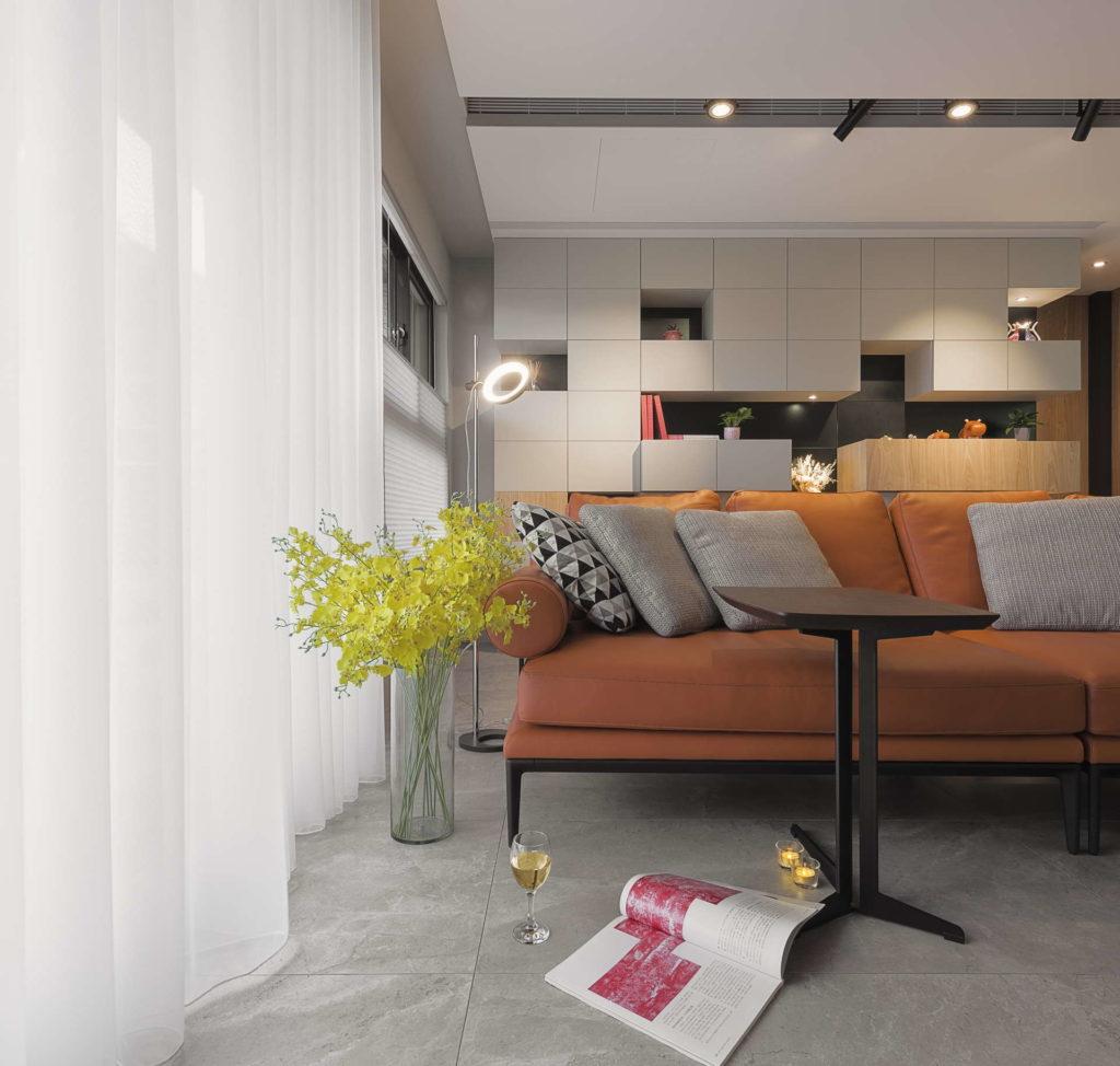 客廳沙發端景 | 凝境