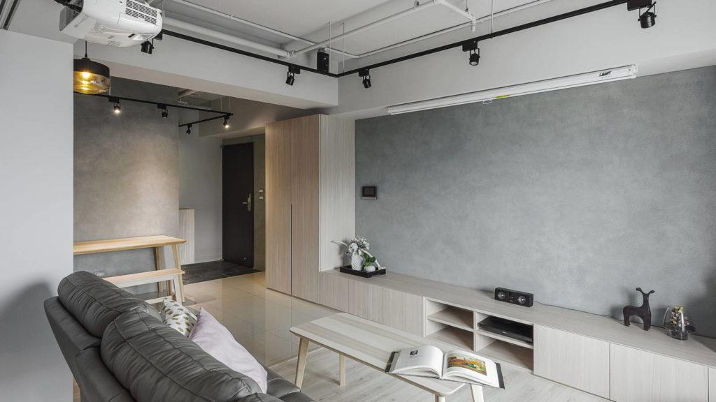 客廳與玄關空間