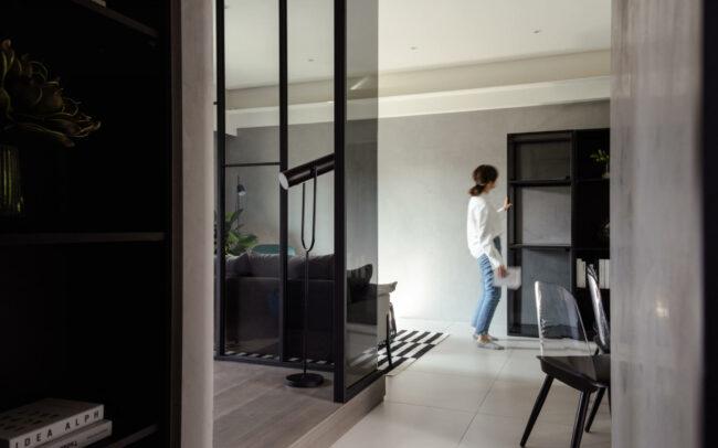 台南 | 時尚2房樣品屋空間攝影